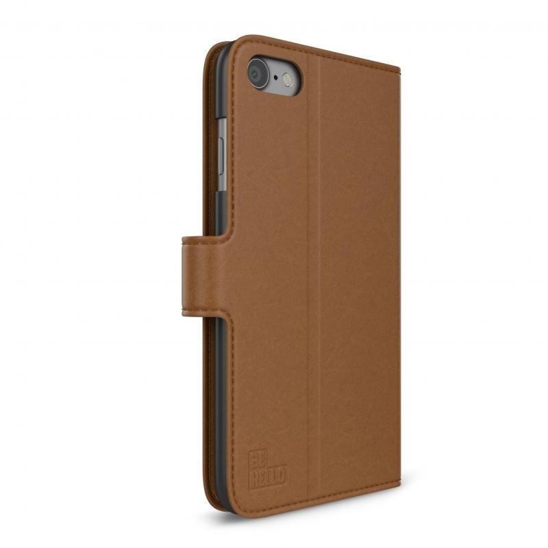 BeHello Portemonnee Hoes iPhone 8/7/6S/6 Bruin - 4