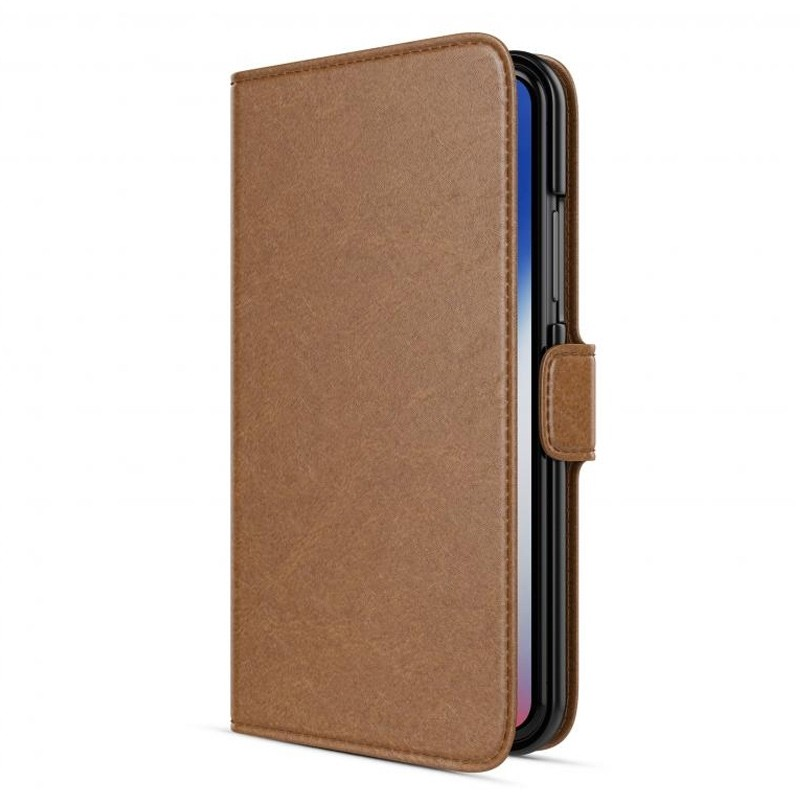 BeHello Wallet Case voor Apple iPhone X/Xs Bruin 02