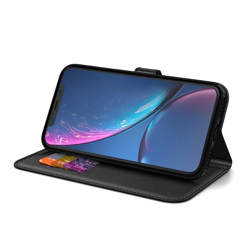 BeHello Wallet Case iPhone XR Zwart 02
