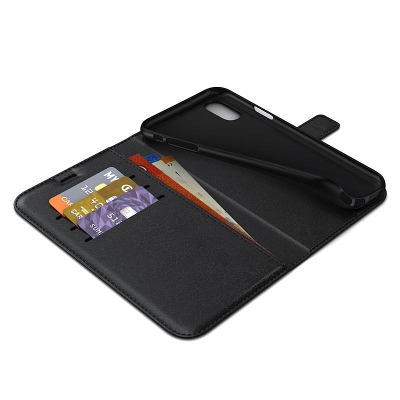 BeHello Wallet Case iPhone XR Zwart 04