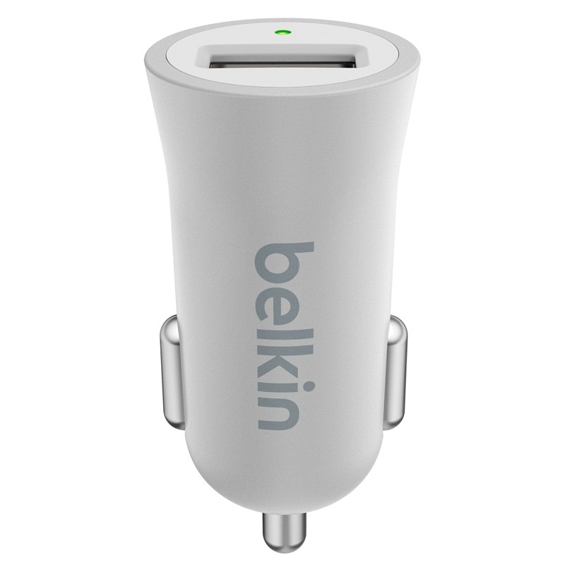 Belkin - Mixit Metallic Autolader 2,4A Silver 02