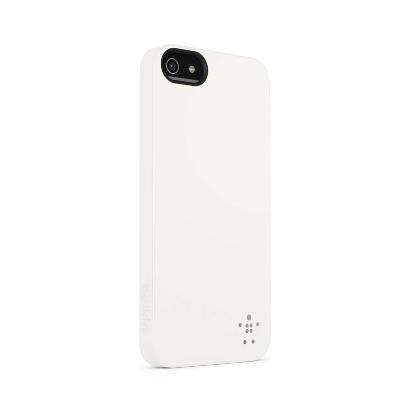 Belkin Shield Matte iPhone 5 (White) 02