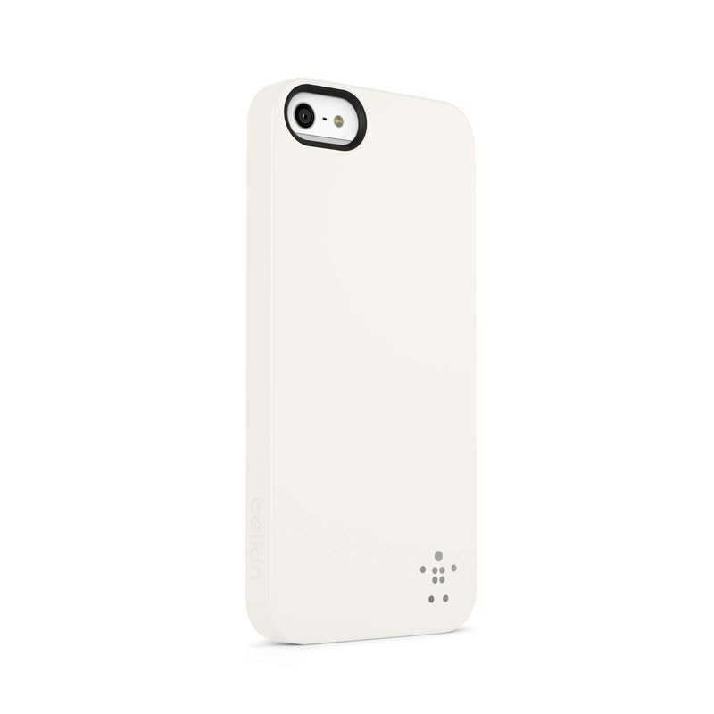 Belkin Shield Matte iPhone 5 (White) 01