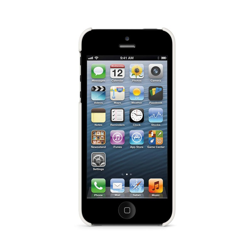 Belkin Shield Matte iPhone 5 (White) 06