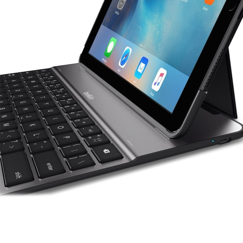 Belkin - Ultimate Lite Keyboard Case iPad 2017 / iPad Air Black - 5