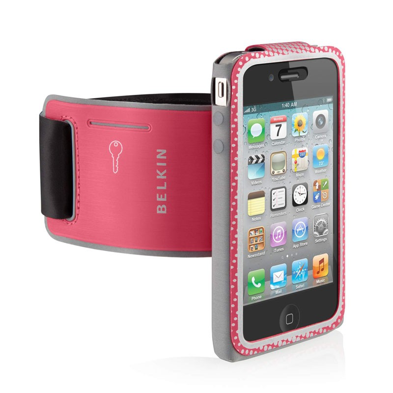 Belkin Profit Convertible iPhone 4(S) Pink - 2