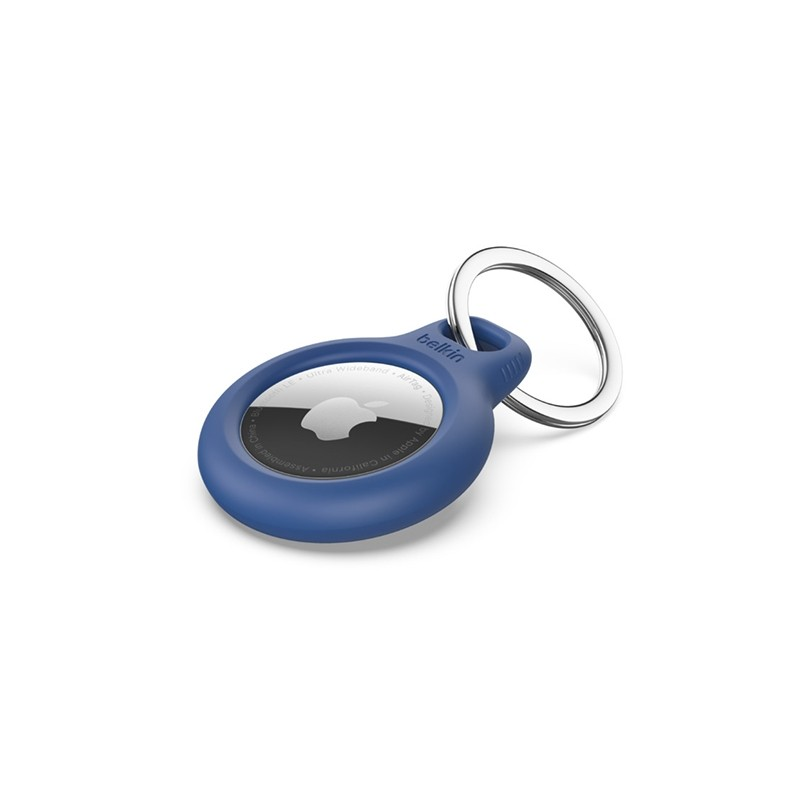 Belkin Secure Holder AirTag Sleutelhanger Blauw 01