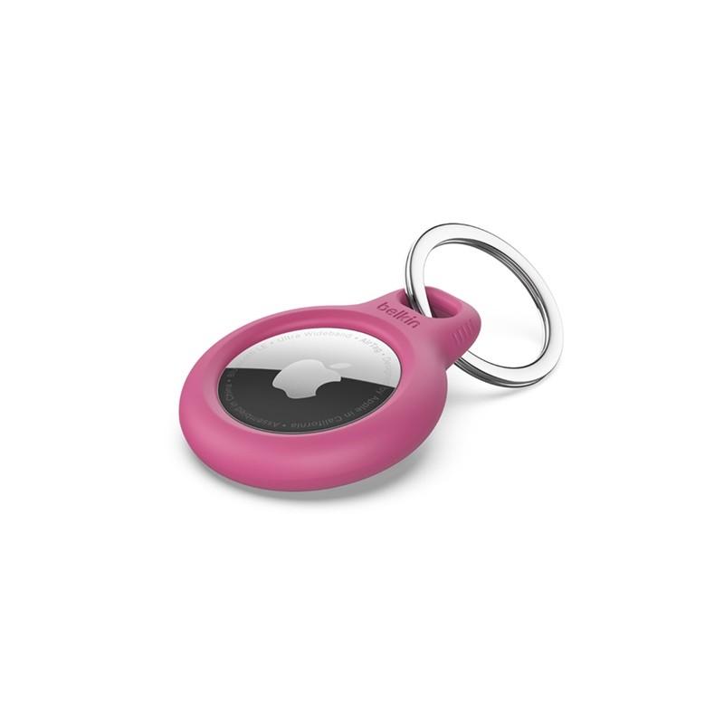 Belkin Secure Holder AirTag Sleutelhanger Roze 01