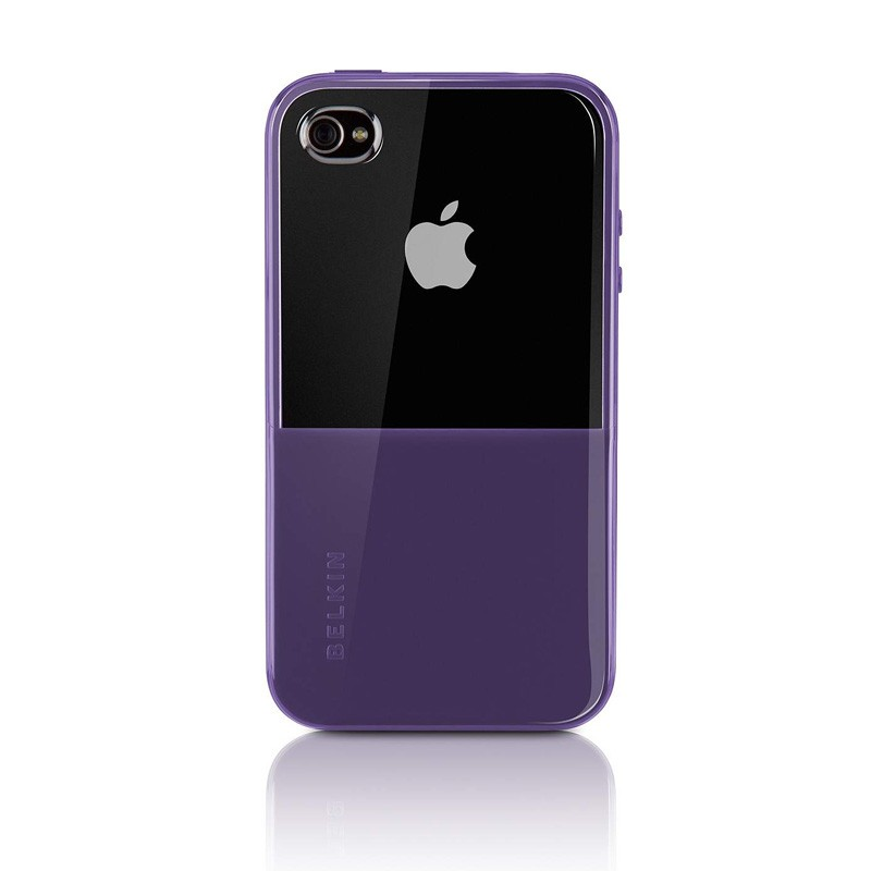 Belkin Shield Eclipse iPhone 4 Purple - 1