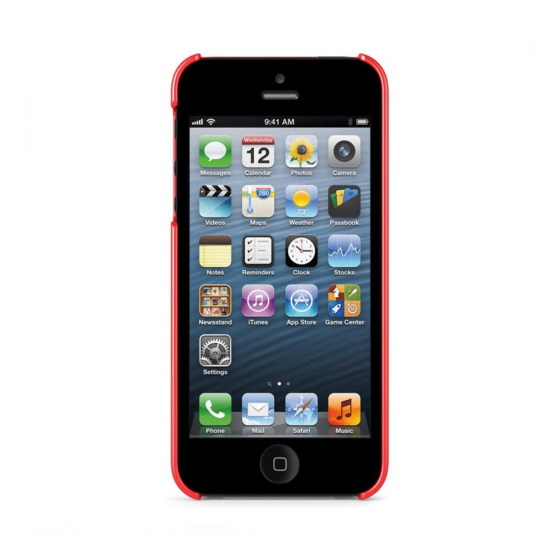Belkin Shield iPhone 5 Red - 3