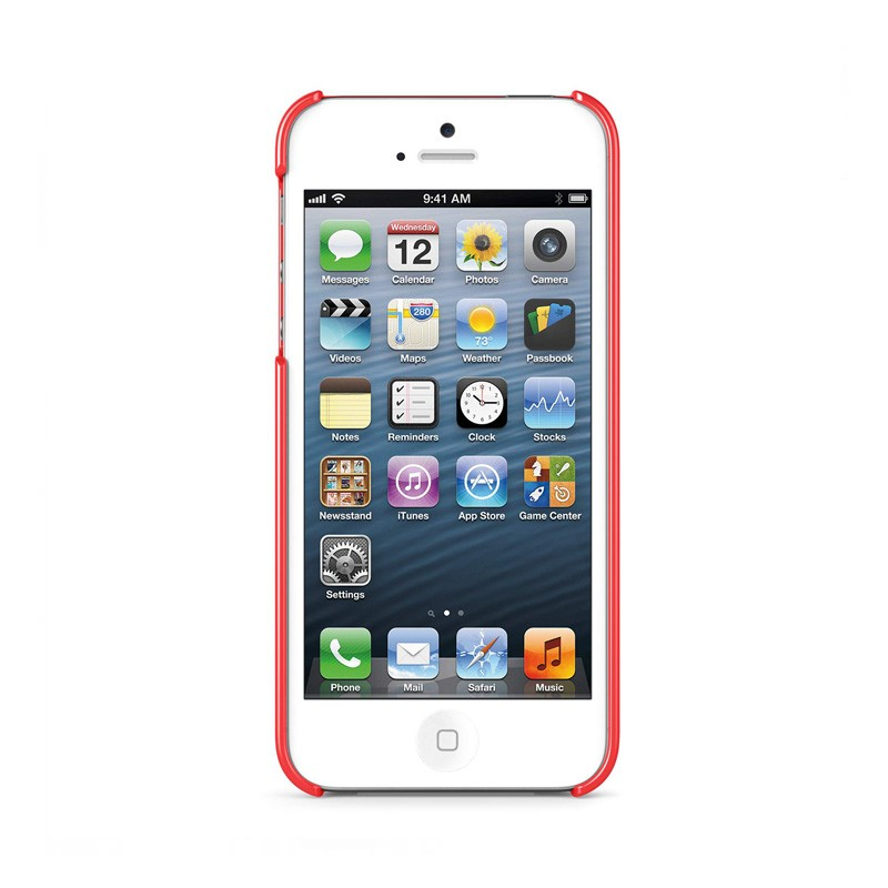 Belkin Shield iPhone 5 Red - 4