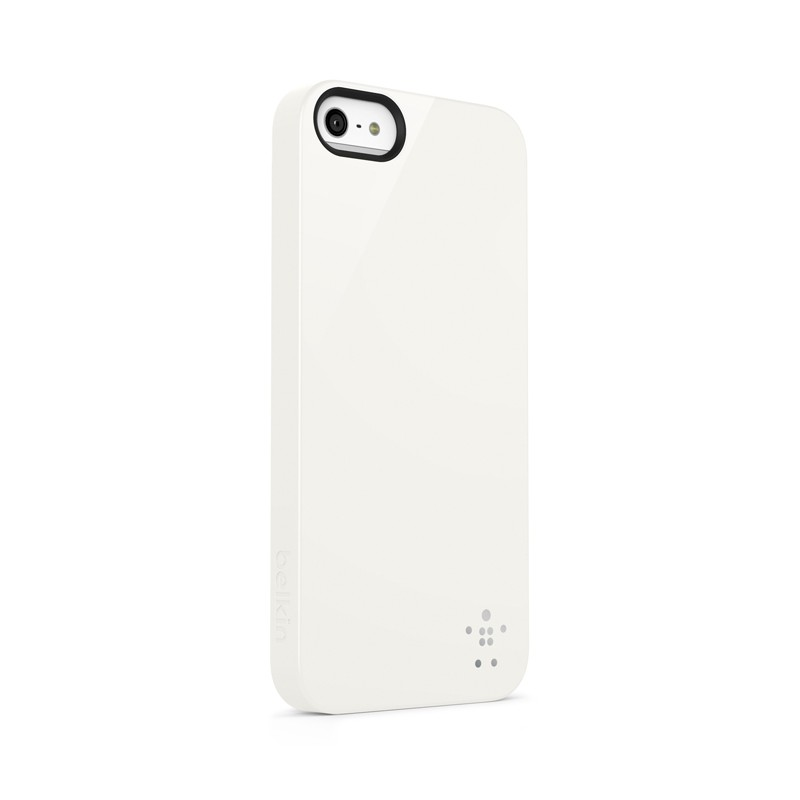 Belkin Shield iPhone 5 White - 2