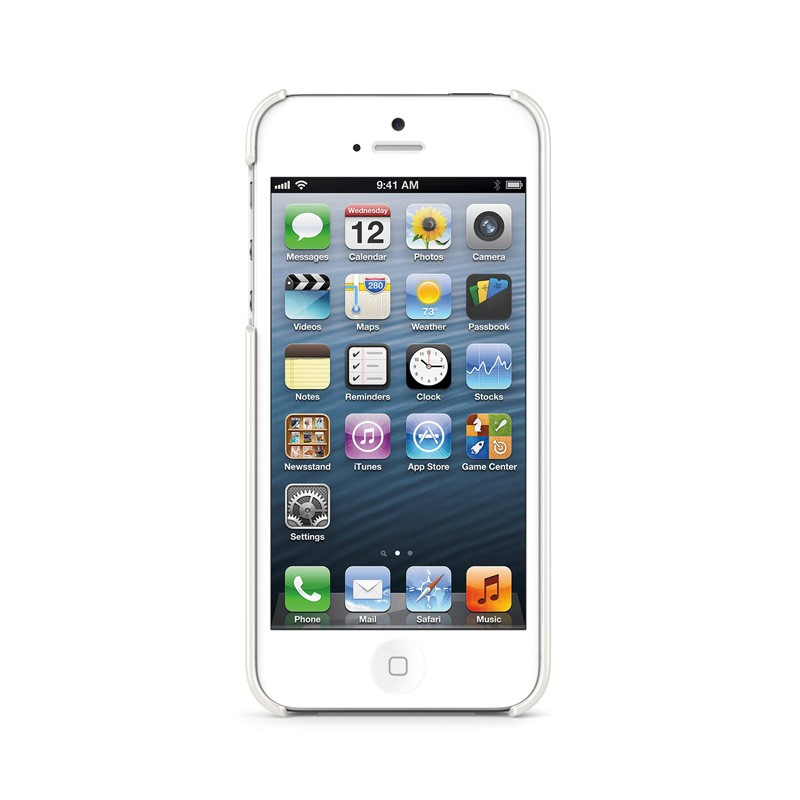 Belkin Shield iPhone 5 White - 4
