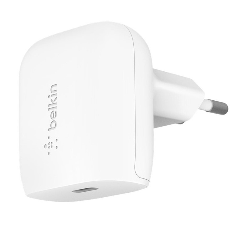 Belkin Oplader USB-C zonder Kabel 20W Power Delivery Wit 01