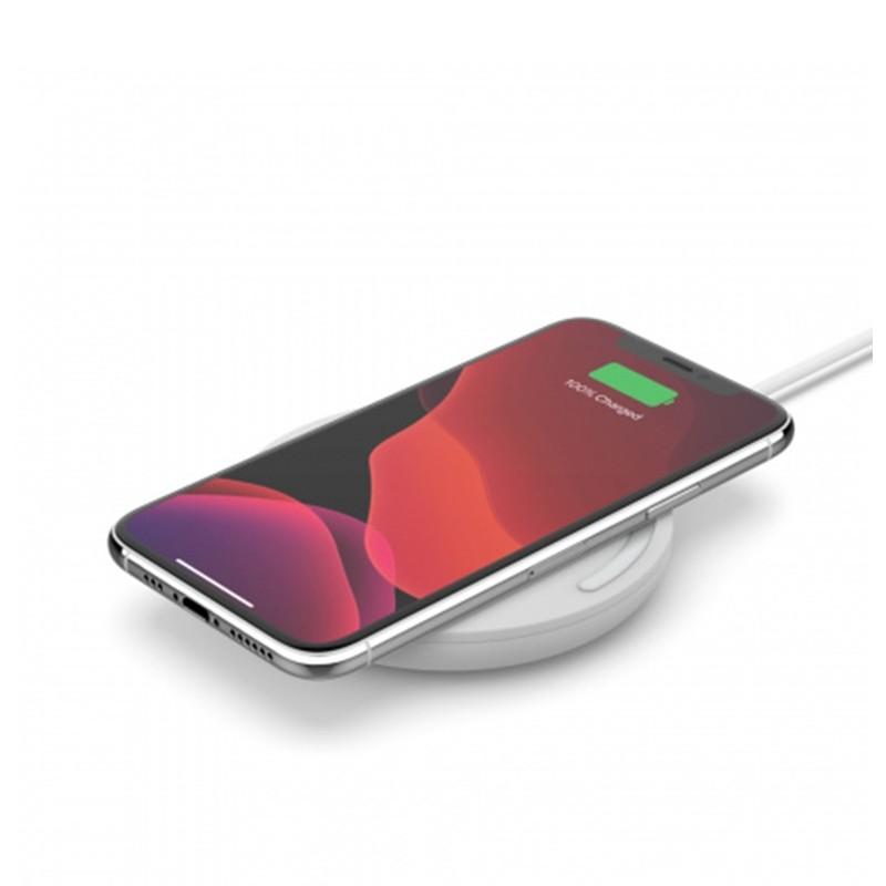Belkin Wireless Charging Pad 10W Draadloze Oplader Wit 01