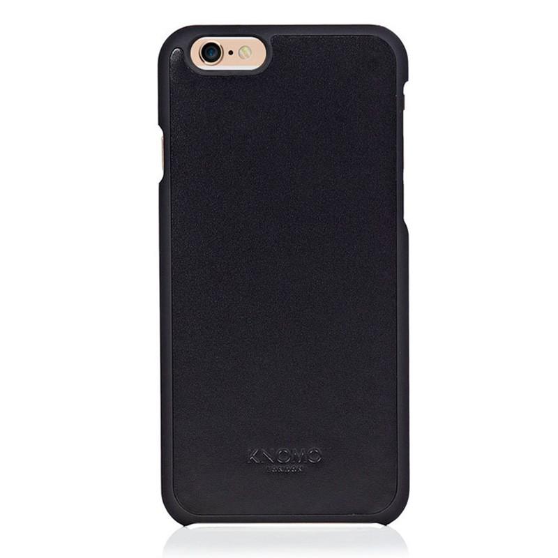 Knomo Leather Snap Case iPhone 6 Plus Blue - 1