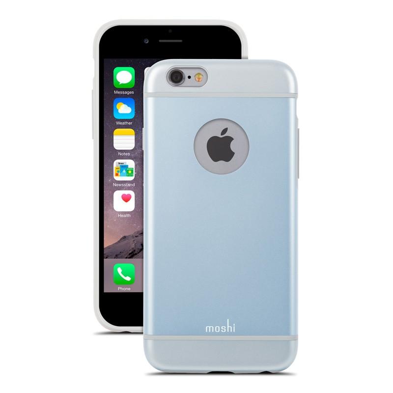 Moshi iGlaze iPhone 6 Blue - 2