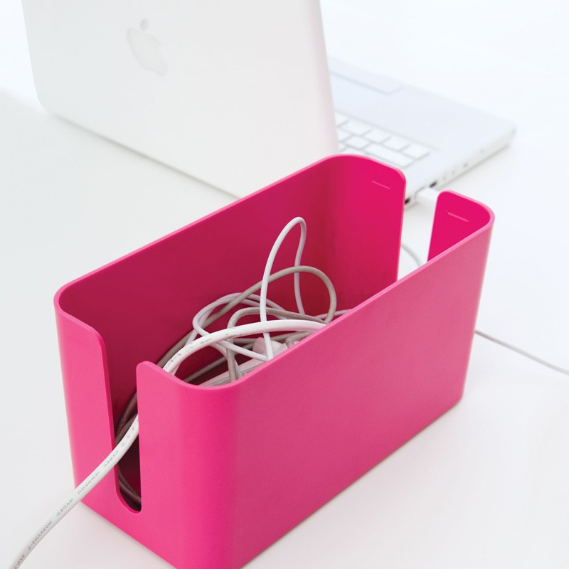 Bluelounge Cablebox Mini Pink  - 2