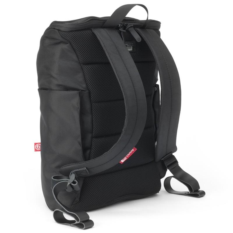 Booq Daypack 15,6 inch Laptop Rugzak Zwart/Rood 05