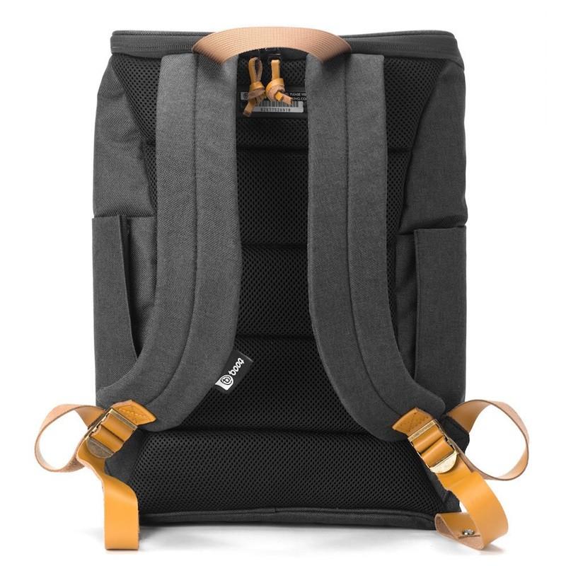 Booq - Daypack 15,6 inch Laptop Rugzak Black Tan 05