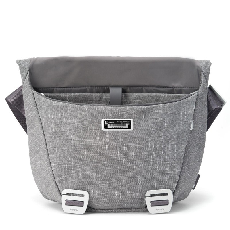Booq - Shadow 15 inch Laptop Messenger Grey Fiber 04