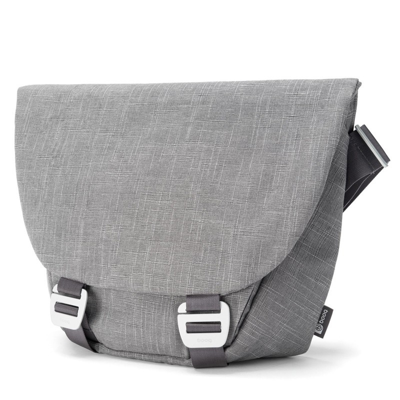 Booq - Shadow 15 inch Laptop Messenger Grey Fiber 02