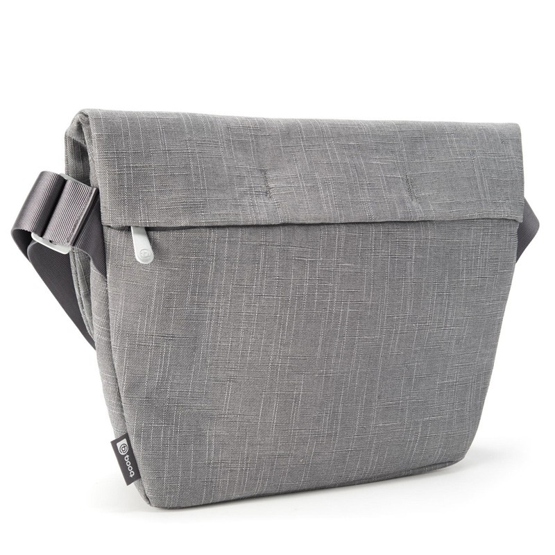 Booq - Shadow 15 inch Laptop Messenger Grey Fiber 06