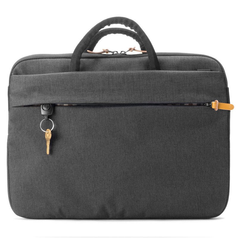 Booq - Superslim 15 inch Laptoptas Black Tan 07