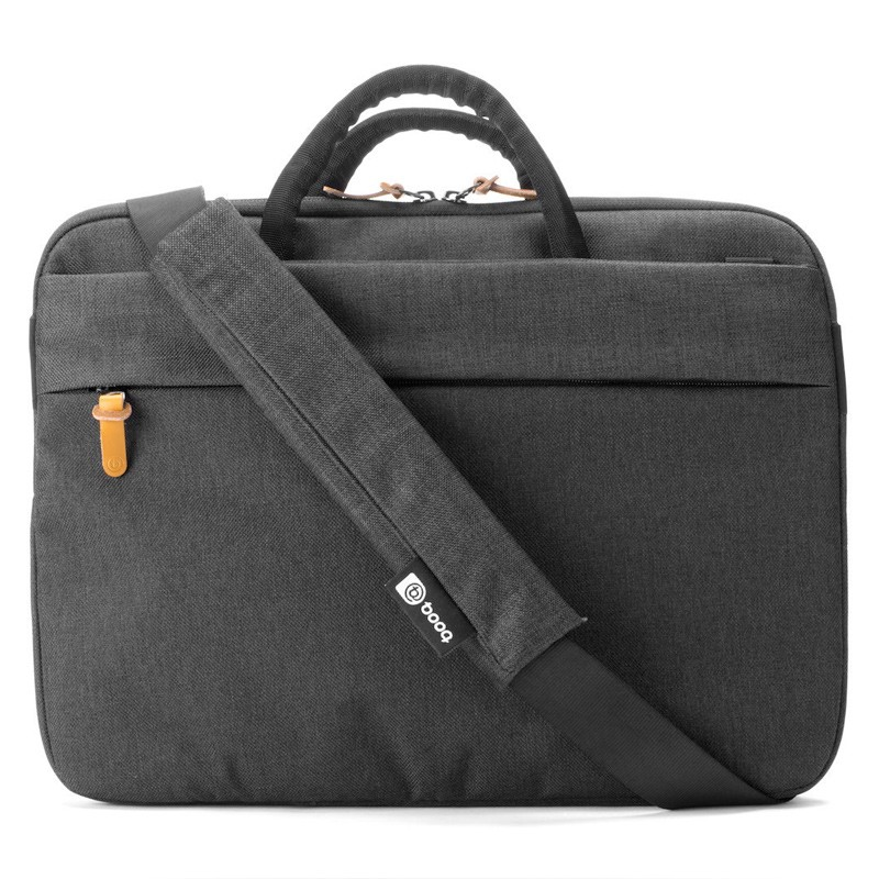 Booq - Superslim 15 inch Laptoptas Black Tan 08
