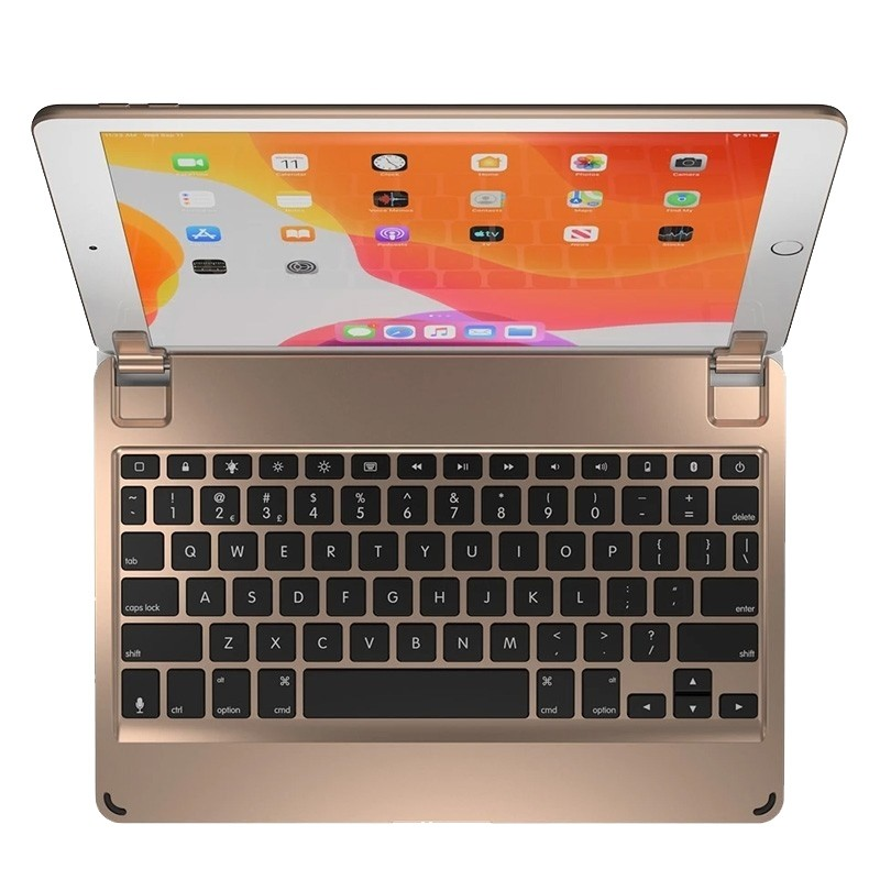 Brydge iPad 10.2 Toetsenbord Goud - 1