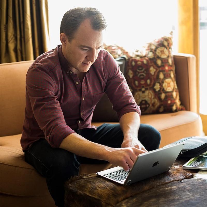 Brydge iPad 10.2 Toetsenbord Goud - 5