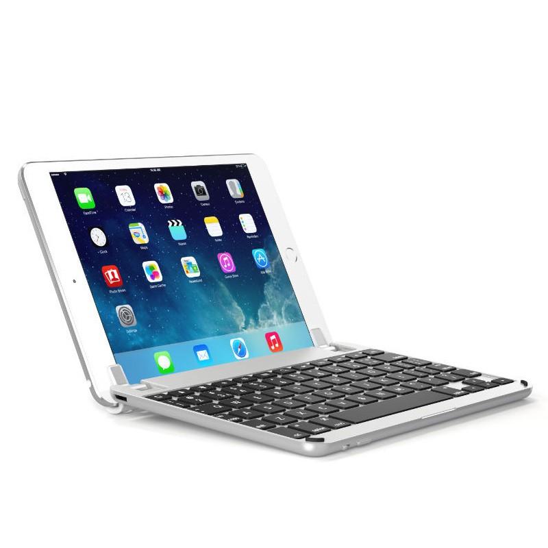 Brydge - Keyboard 7.9 inch iPad mini (2019), iPad mini 4 Silver 01
