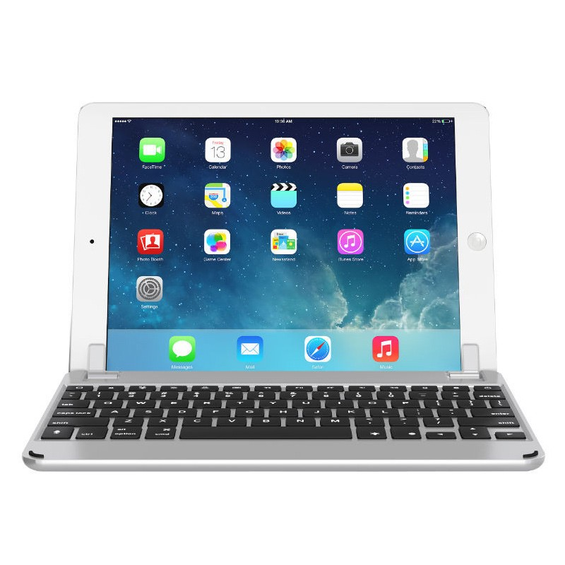 Brydge - Keyboard 9.7 iPad Air/Air 2/Pro 9.7 Silver 03