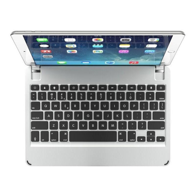 Brydge iPad Air 10.5 (2019), iPad Pro 10.5 Keyboard Case Zilver - 1
