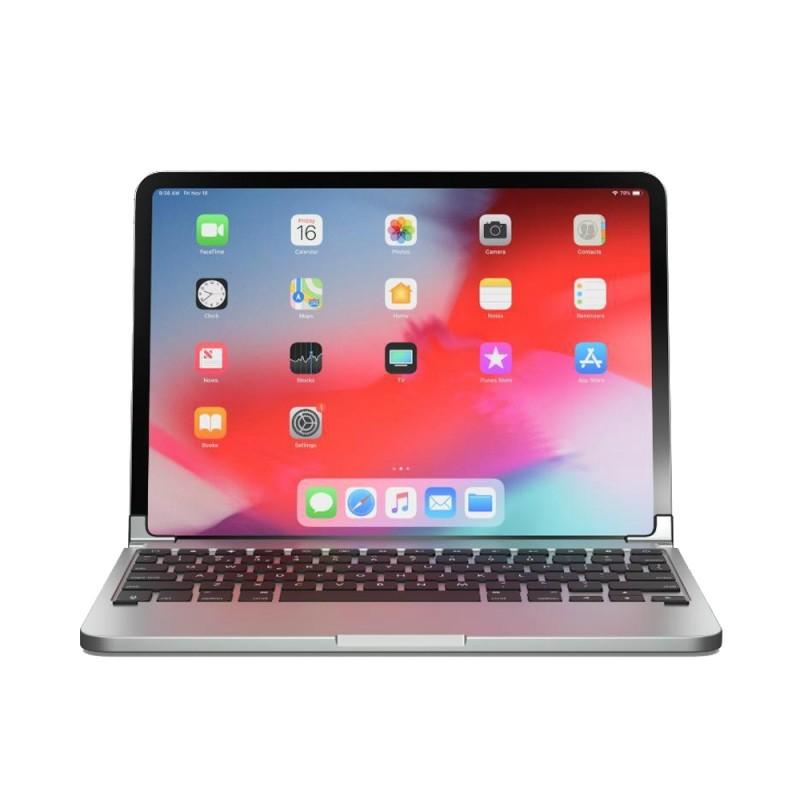 Brydge Pro Keyboard iPad Pro 11 inch Silver - 1