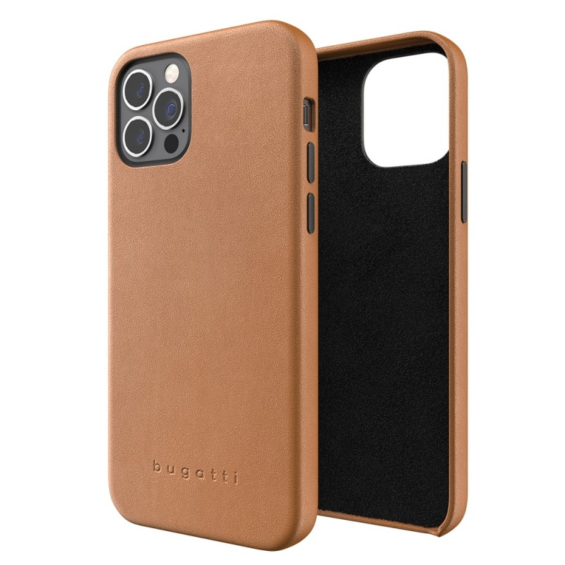 Bugatti Porto iPhone 12 / 12 Pro 6.1 Bruin - 1