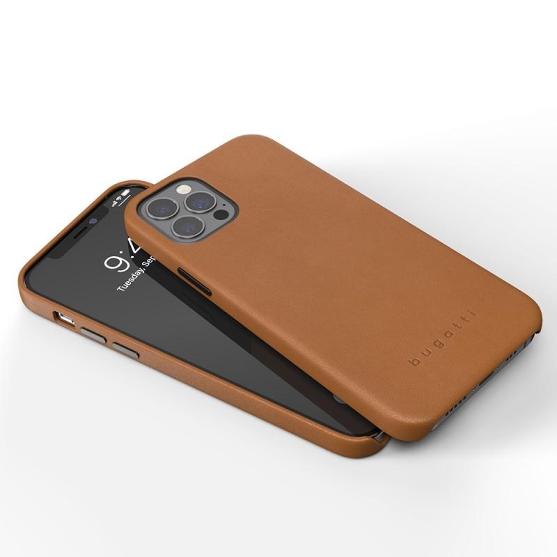 Bugatti Porto iPhone 12 / 12 Pro 6.1 Bruin - 2