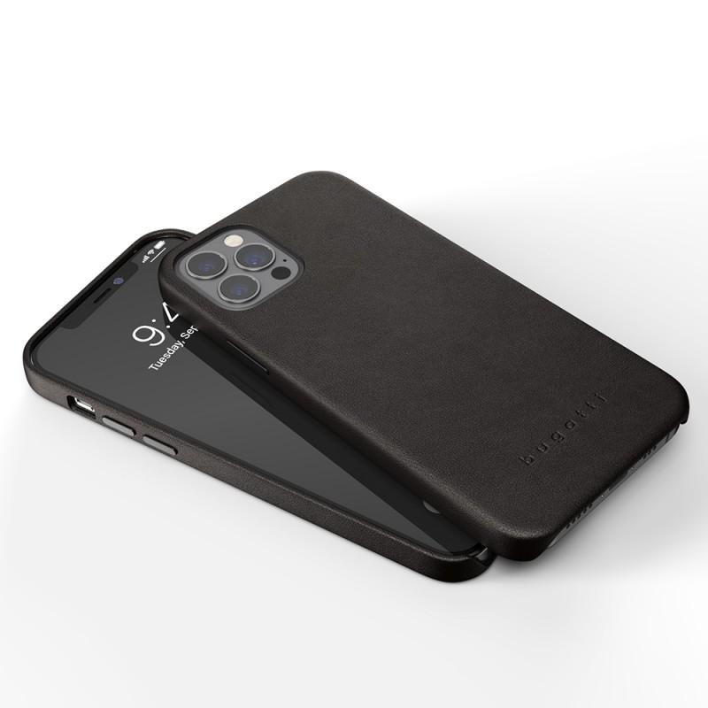 Bugatti Porto iPhone 12 / 12 Pro 6.1 Zwart - 6