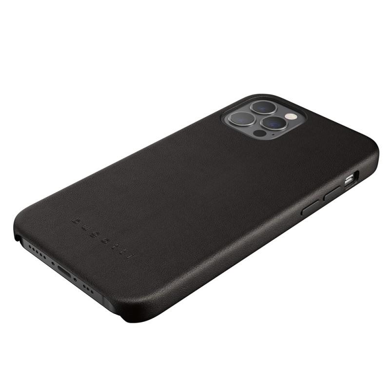 Bugatti Porto iPhone 12 / 12 Pro 6.1 Zwart - 4