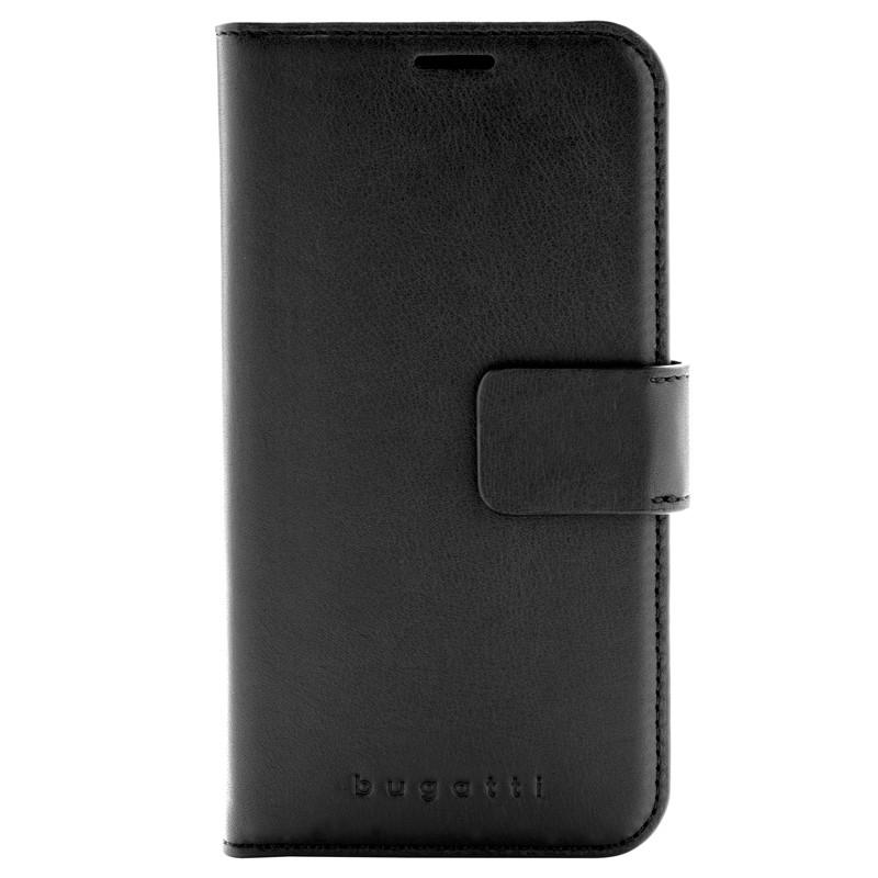 Bugatti Zurigo Lederen iPhone XR Wallet hoes zwart 01