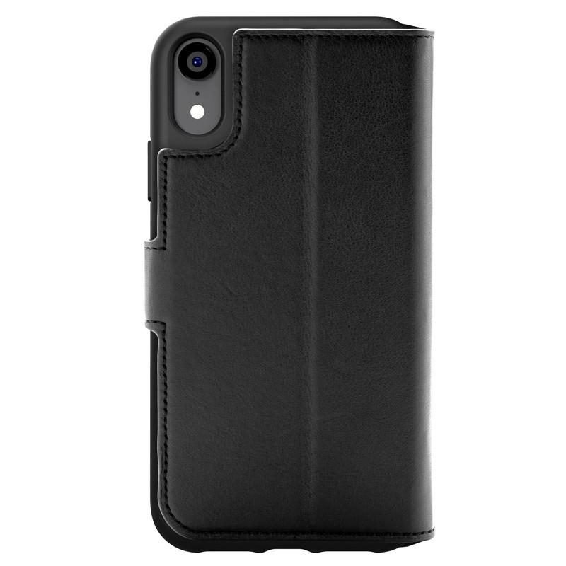 Bugatti Zurigo Lederen iPhone XR Wallet hoes zwart 02