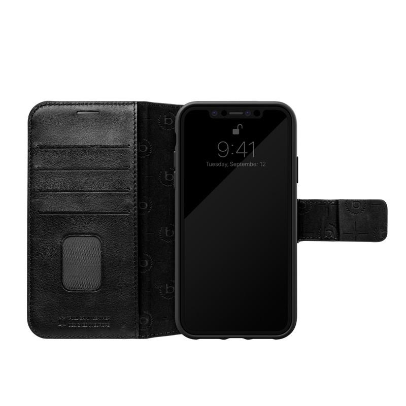 Bugatti Zurigo Lederen iPhone XR Wallet hoes zwart 03