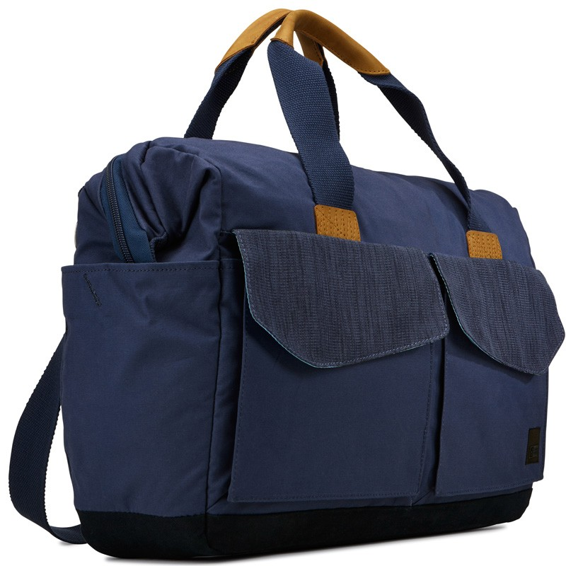 Case Logic LoDo Satchel 15 inch Dress Blue - 2