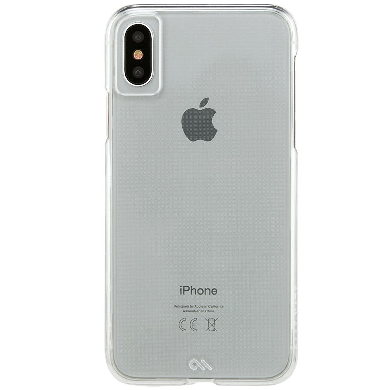 Case-Mate Barely There iPhone X/Xs Clear 02