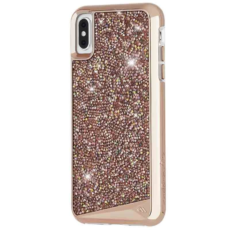 Case-Mate Brilliance Case iPhone XS Max Rose Goud 02