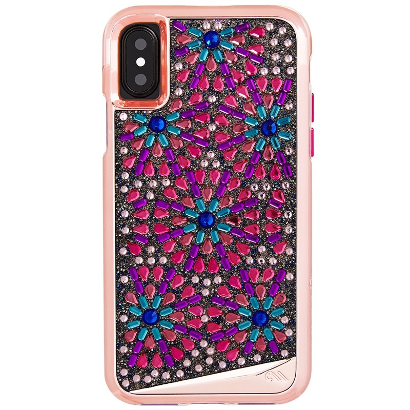 Case-Mate Premium Brilliance Case iPhone X/Xs Brooch 01