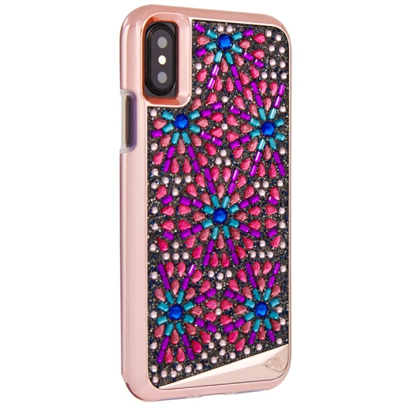 Case-Mate Premium Brilliance Case iPhone X/Xs Brooch 02