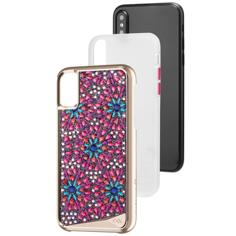 Case-Mate Premium Brilliance Case iPhone X/Xs Brooch 03
