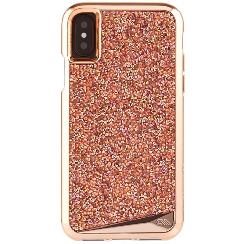 Case-Mate Premium Brilliance Case iPhone X/Xs Rose Gold 01