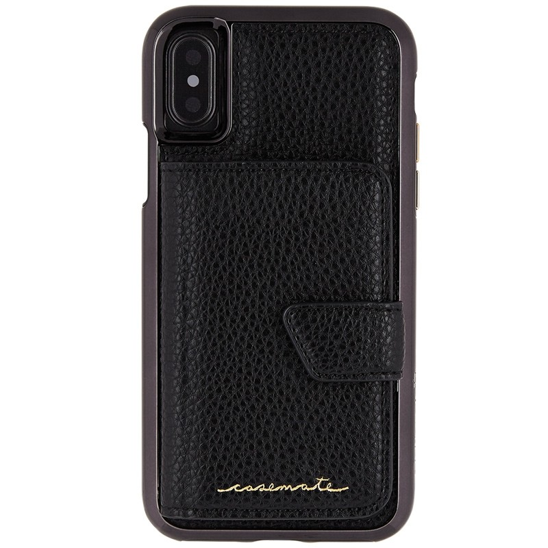 Case-Mate Compact Mirror Case iPhone X/Xs Black 02